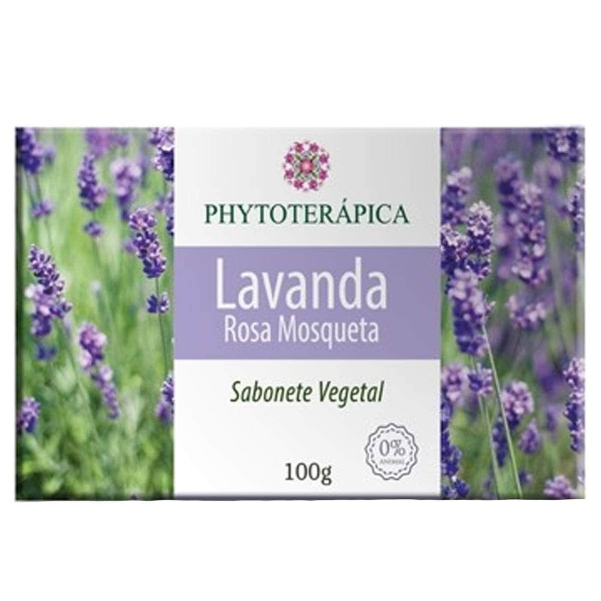 Sabonete Lavanda E Rosa Mosqueta 100g - Phytoterapica