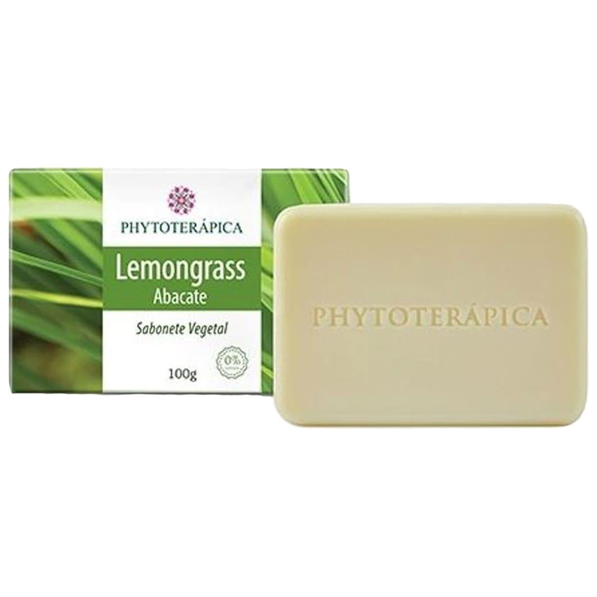 Sabonete Lemongrass e Abacate 100g - Phytoterapica