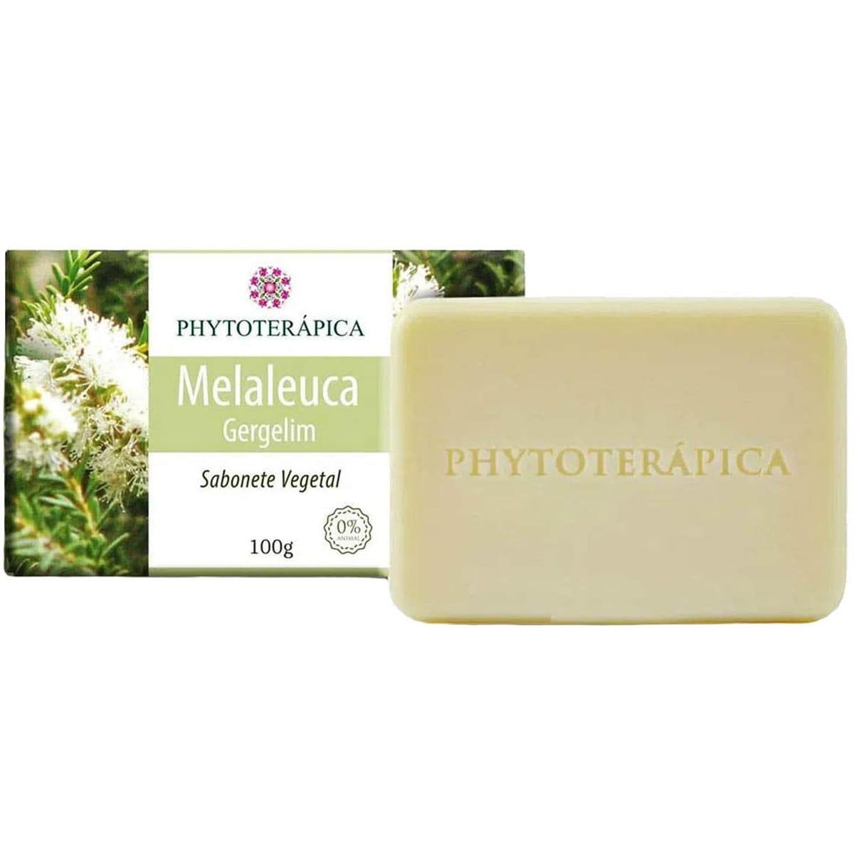 Sabonete Melaleuca e Gergelim 100g - Phytoterapica