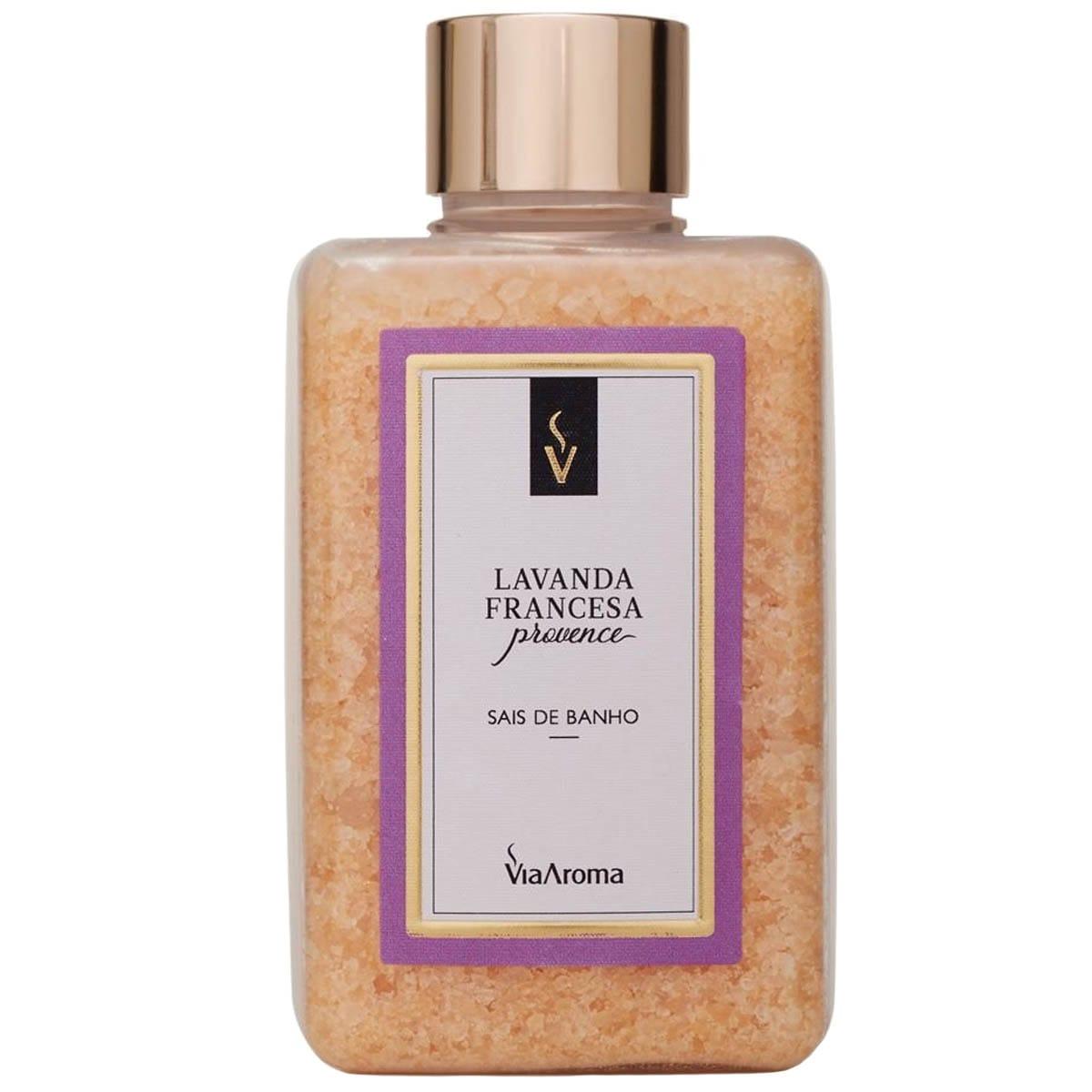 Sal de Banho Lavanda Francesa Provence 440g - VIia Aroma