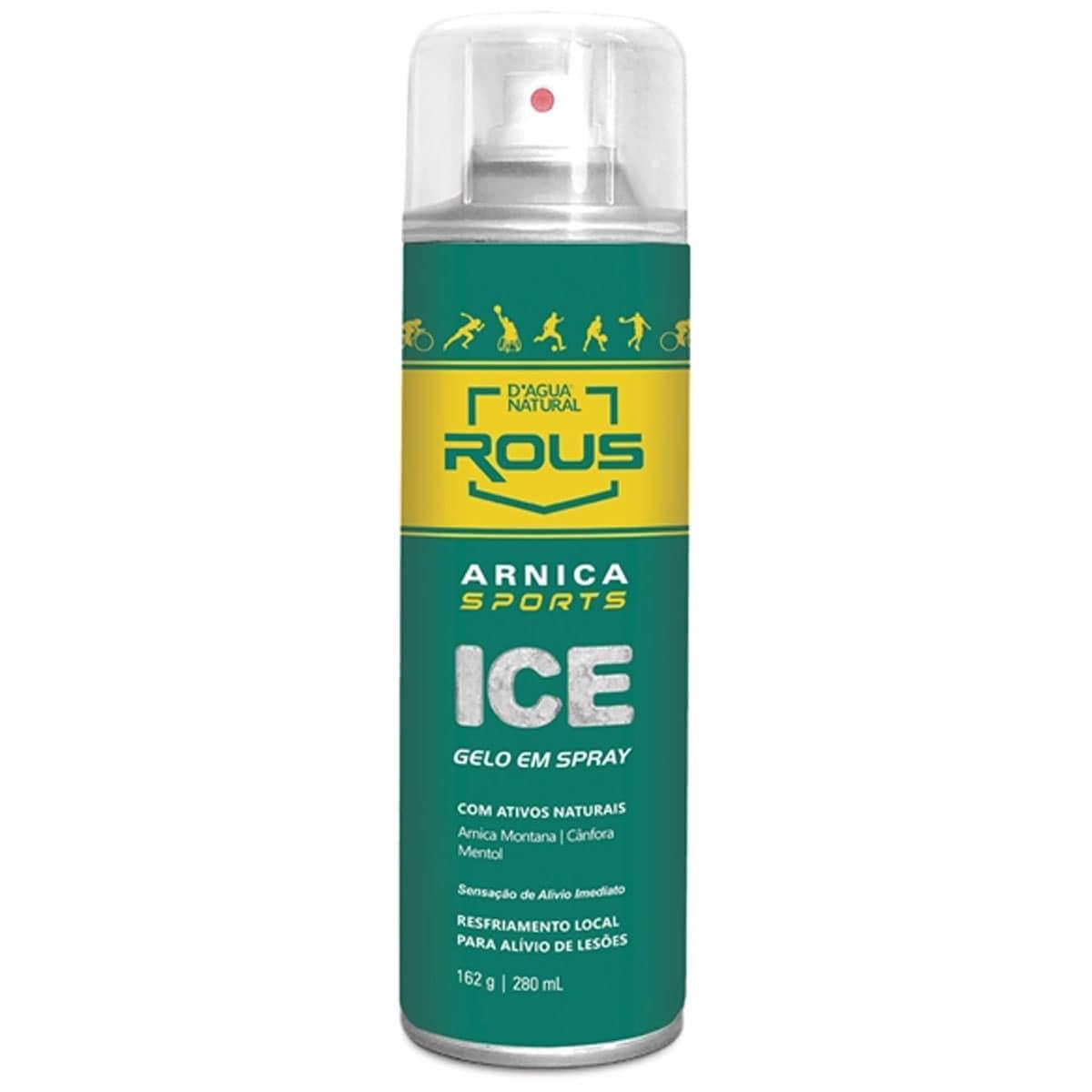 Spray arnica sports ice 280ml - d agua natural