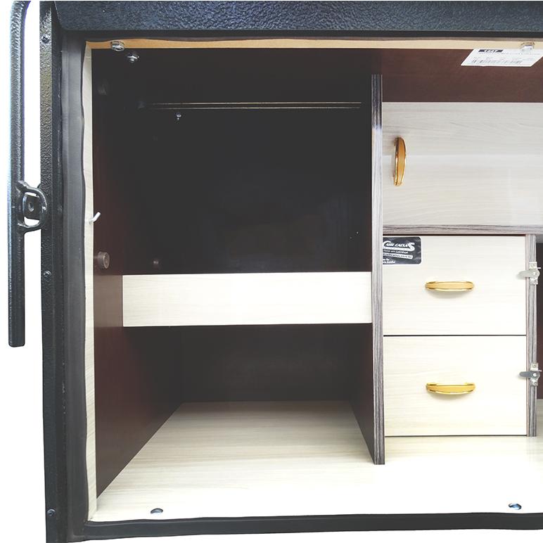 Caixa de Cozinha para Caminhão 115cm - Linha Pop Econômica