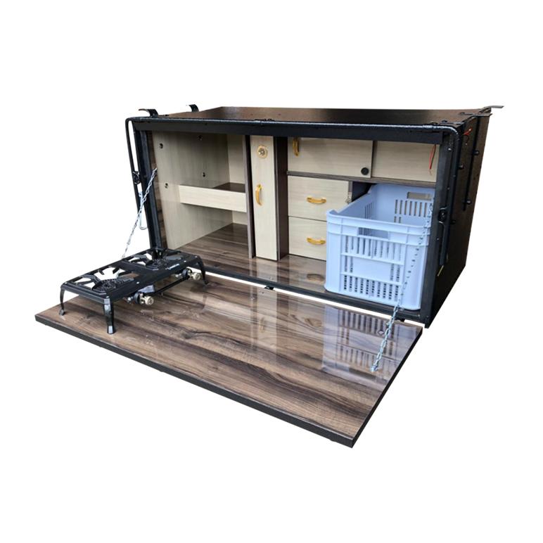 Caixa de Cozinha para Caminhão 125cm - Linha Super Luxo
