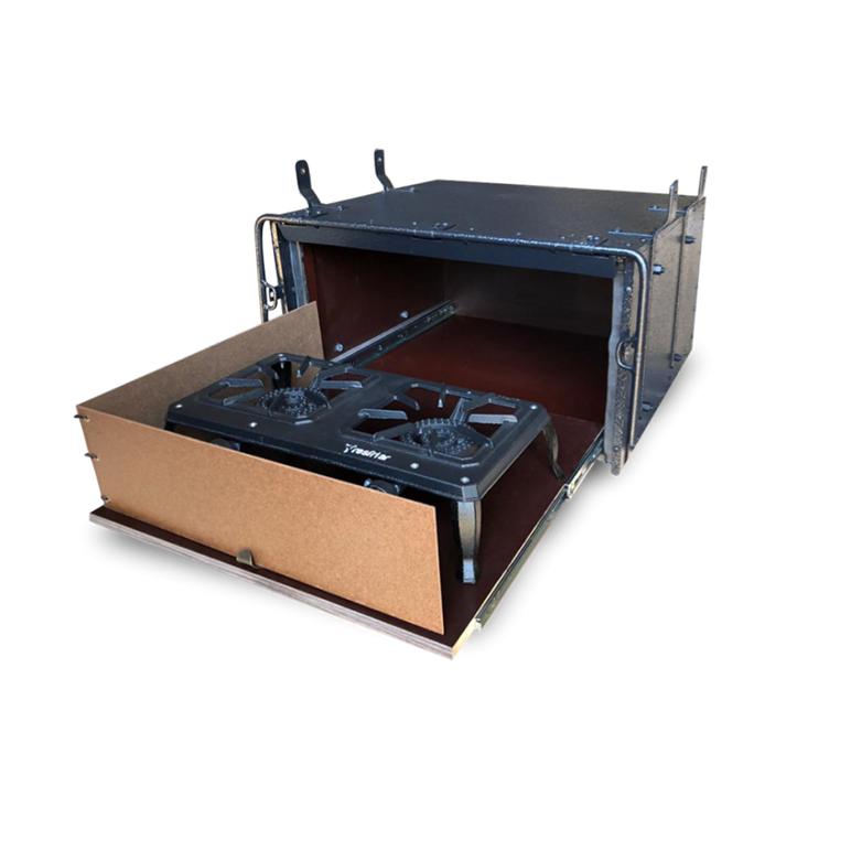 Caixa de Cozinha para Caminhão 63cm Para Fogareiro - Linha Pop Econômica