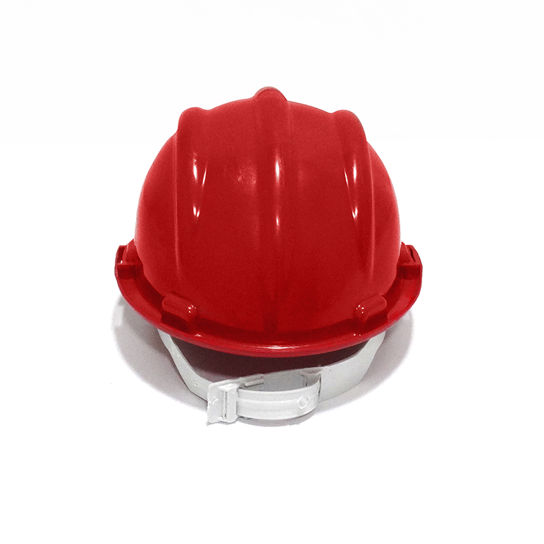 Capacete de segurança vermelho