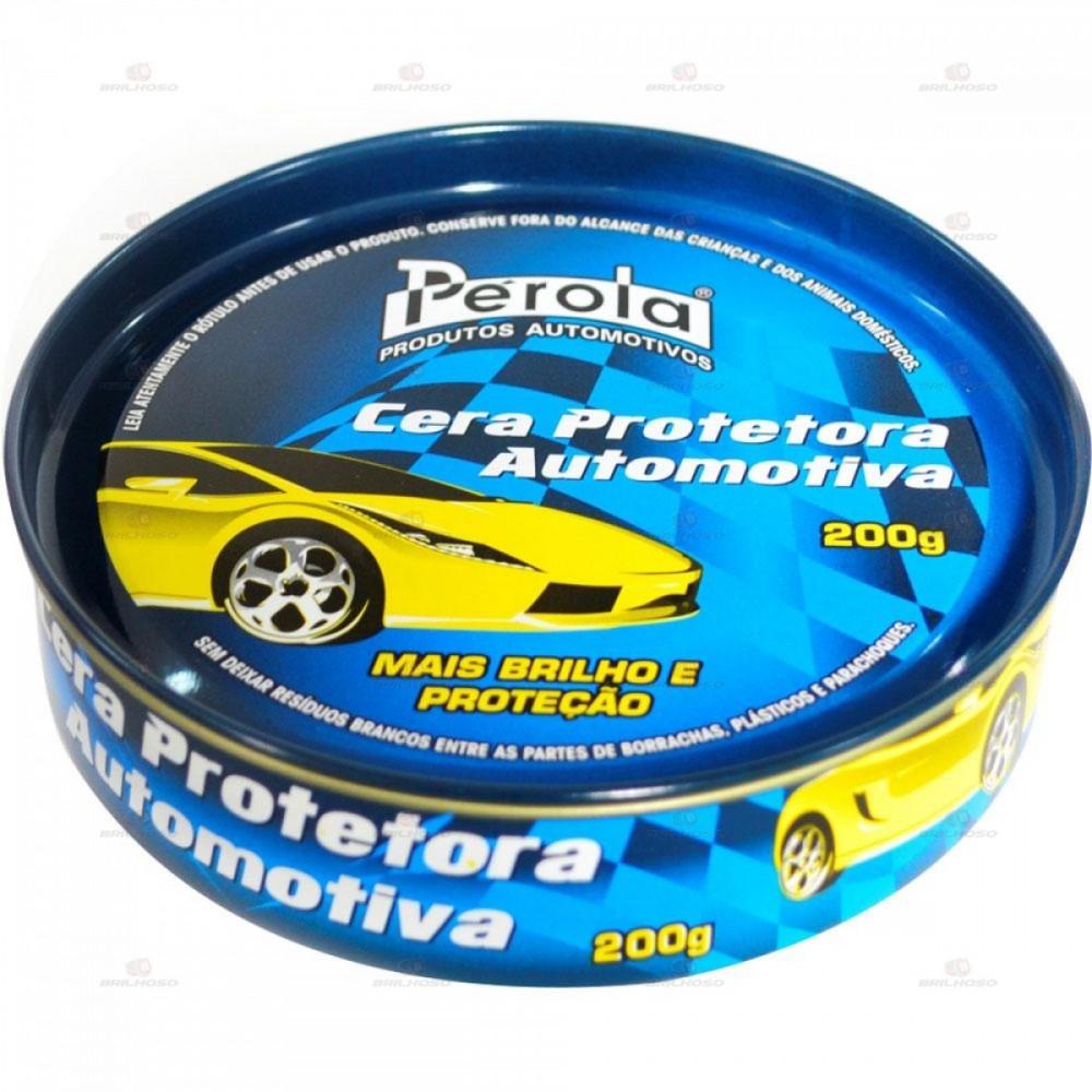 Cera Automotiva Pérola - 200g
