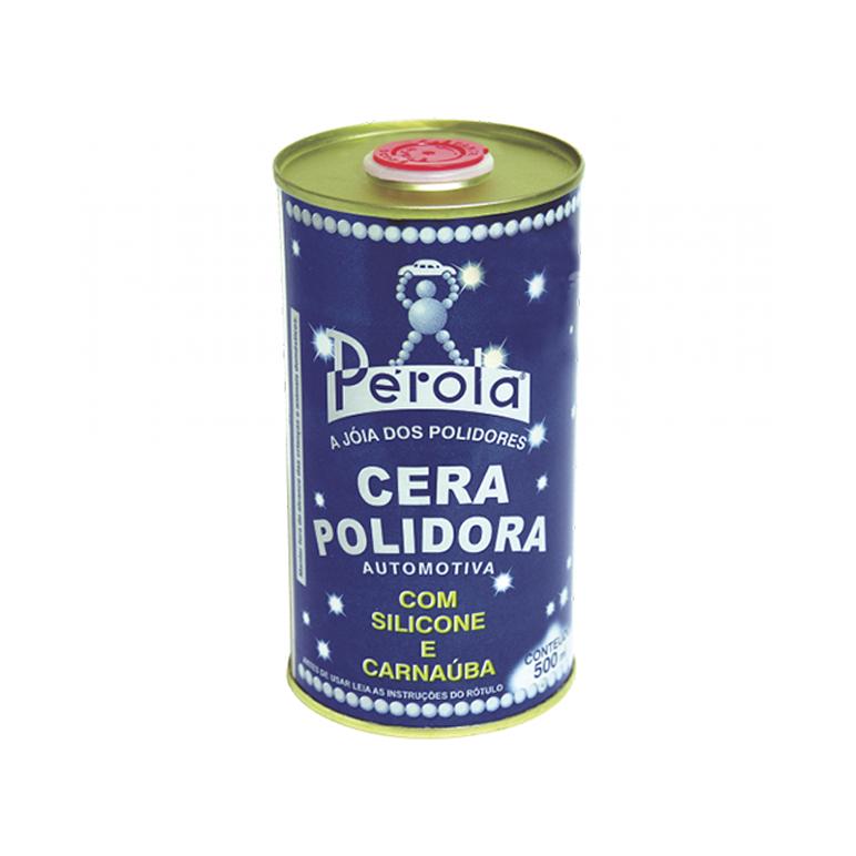 Cera Polidora Perola - 500ml