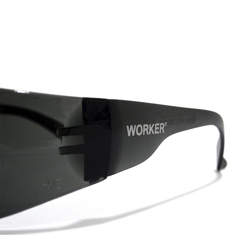 Óculos de segurança fumê