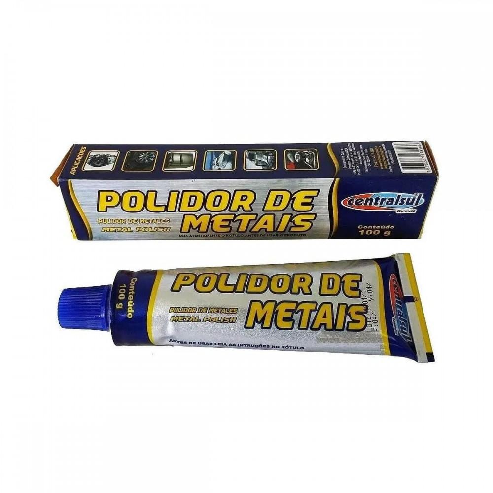 Polidor de Metais - 100g Centralsul
