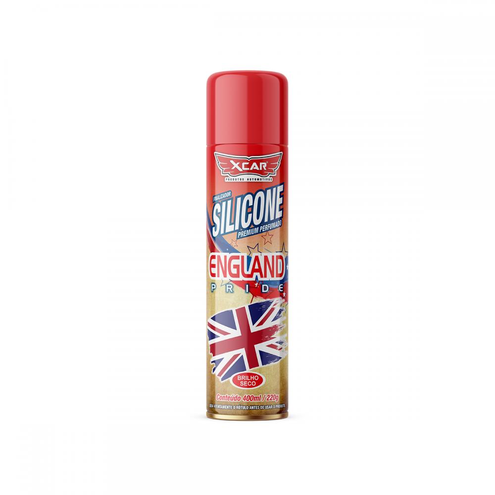 Silicone Spray England 400ML/200G - Xcar 9046