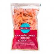 120/150 CAMARAO CINZA INTEIRO PRE COZIDO FRESCATTO - 400GRS