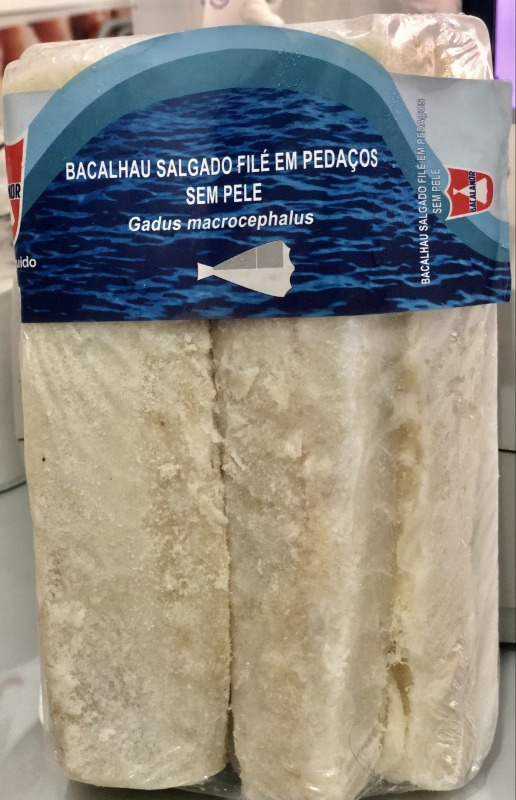 BACALHAU SALGADO FILE GADUS MACRO - BACALANOR