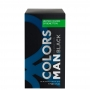 Colors Man Black Benetton Eau de Toilette - Perfume Masculino 60ml