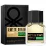 Dream Big Man Benetton Eau de Toilette - Perfume Masculino 60ml