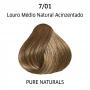 Wella Professionals Color Perfect 7/01 Louro Médio Natural Acinzentado - Coloração Permanente 60g