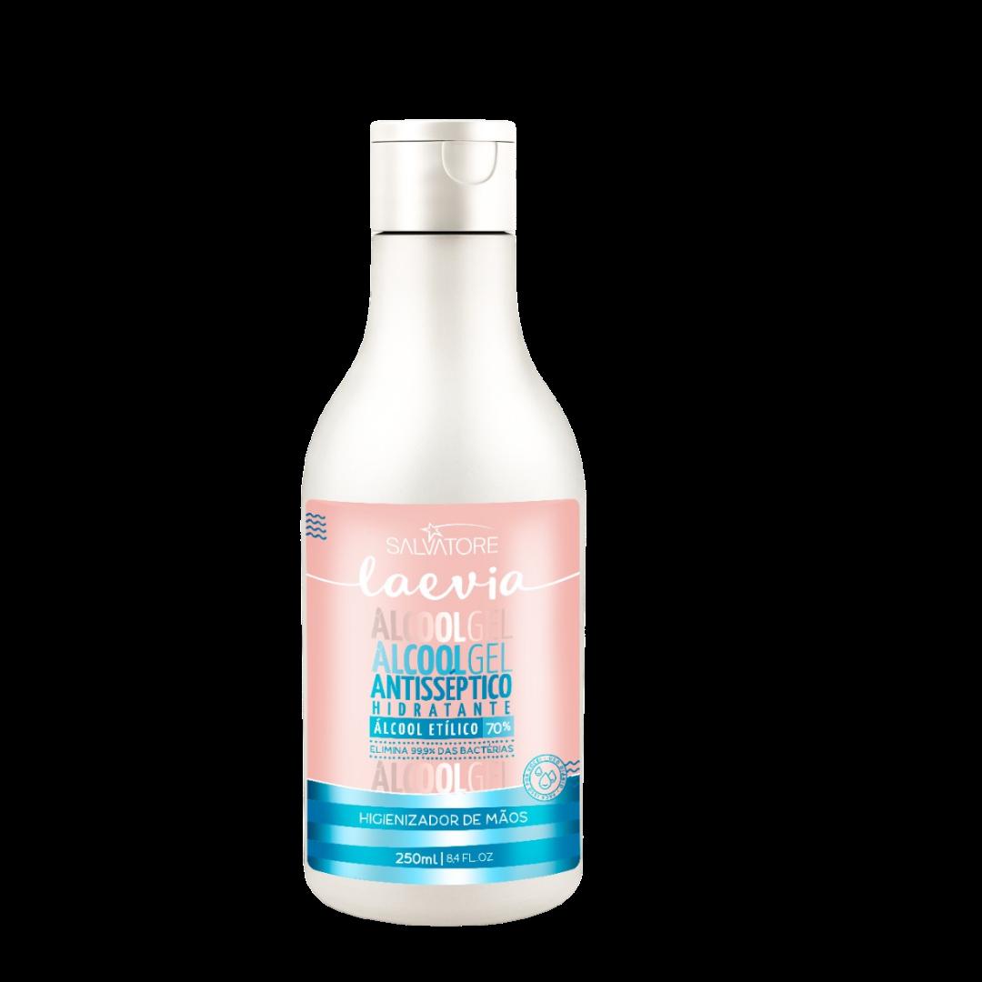 Álcool Gel 70% Salvatore Laevia - Antisséptico Hidratante 250ml