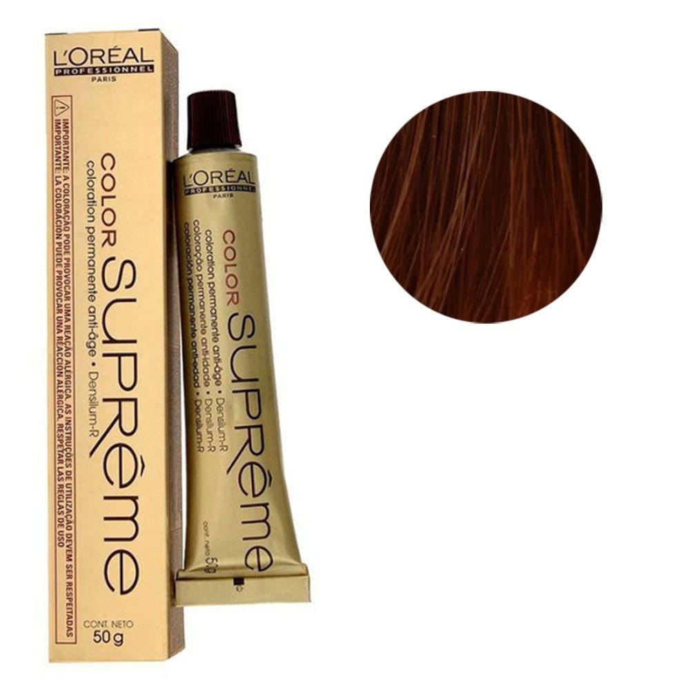 Coloração Supreme 7.34 Conhaque 60g L'Oréal