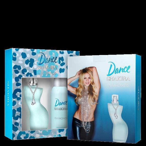 Conjunto Dance Diamonds Shakira Feminino - Eau de Toilette 80ml + Desodorante 150ml