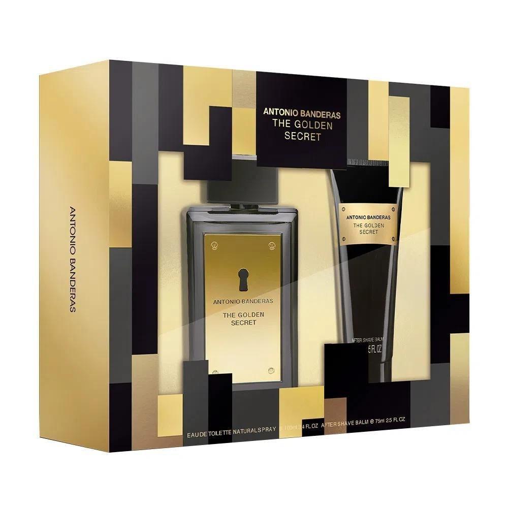 Kit Antonio Banderas The Golden Secret 100Ml + After Shave