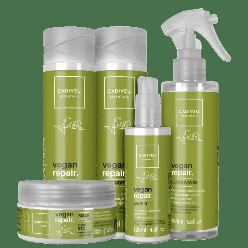KIT CADIVEU PROFISSIONAL Essentials Vegan Repair by Anitta Full (5 Produtos)