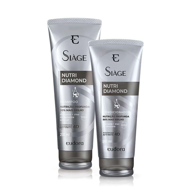 Kit Eudora Siáge Nutri Diamond Home Care (2 Produtos)