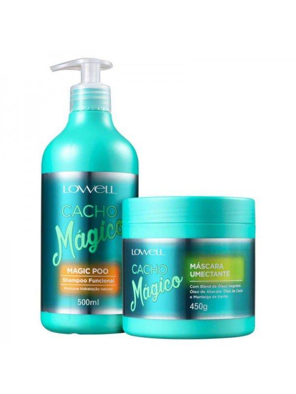 KIT LOWELL Kit Cacho Mágico Duo (2 Produtos)