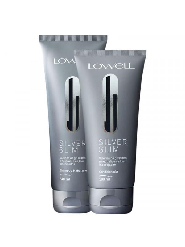 KIT LOWELL Silver Slim Duo (2 Produtos)