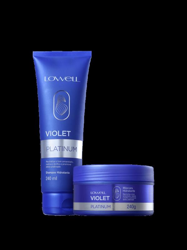 KIT LOWELL Violet Platinum Home (2 Produtos)