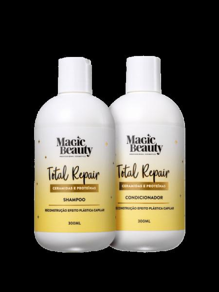 KIT MAGIC BEAUTY Total Repair Duo (2 Produtos)
