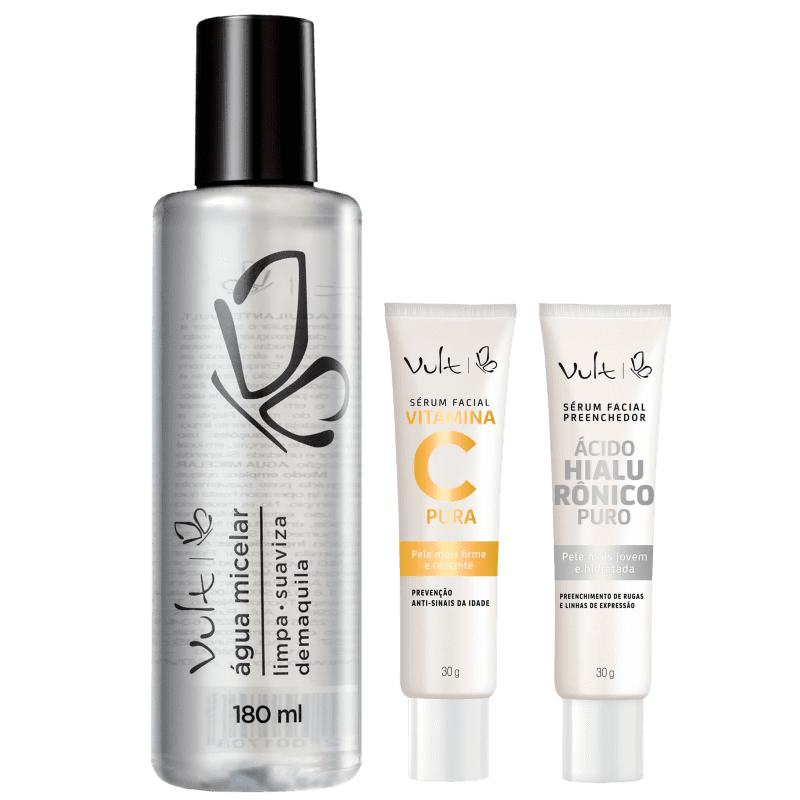 Kit Vult Mãe Skin Care (3 Produtos)