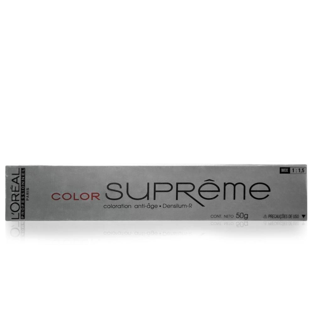 L'oreal Professionnel Color Supreme 7.32 Louro Dourado Irisado Coloracao 50g
