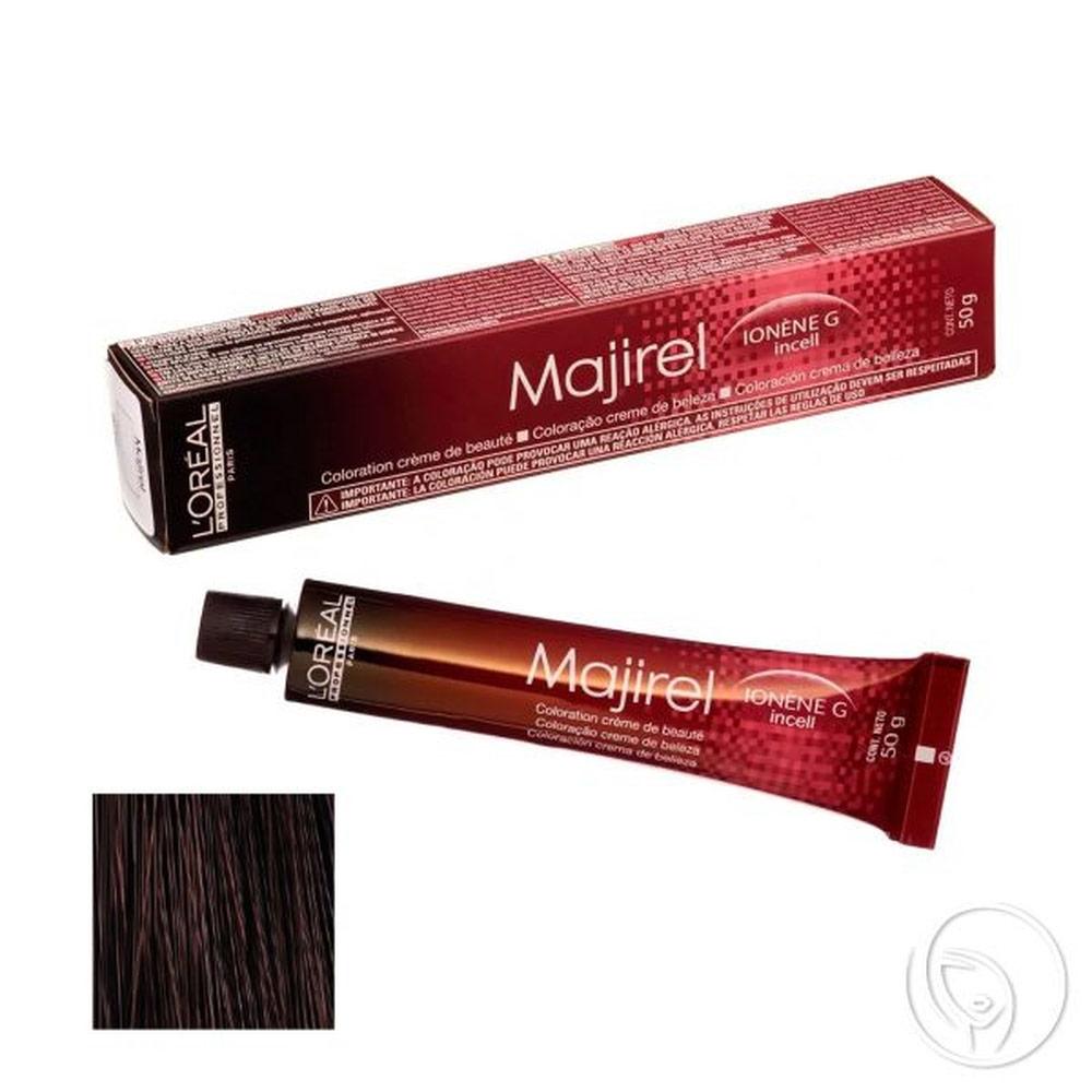 L'oréal Professionnel - Coloração Majirel Nº 5.5 Castanho Claro Acaju - 50g