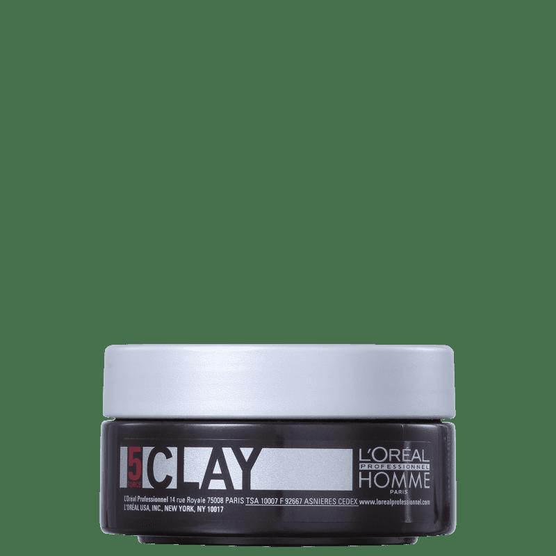 L'ORÉAL PROFESSIONNEL Homme Clay Force5-Pasta Fix. 50ml