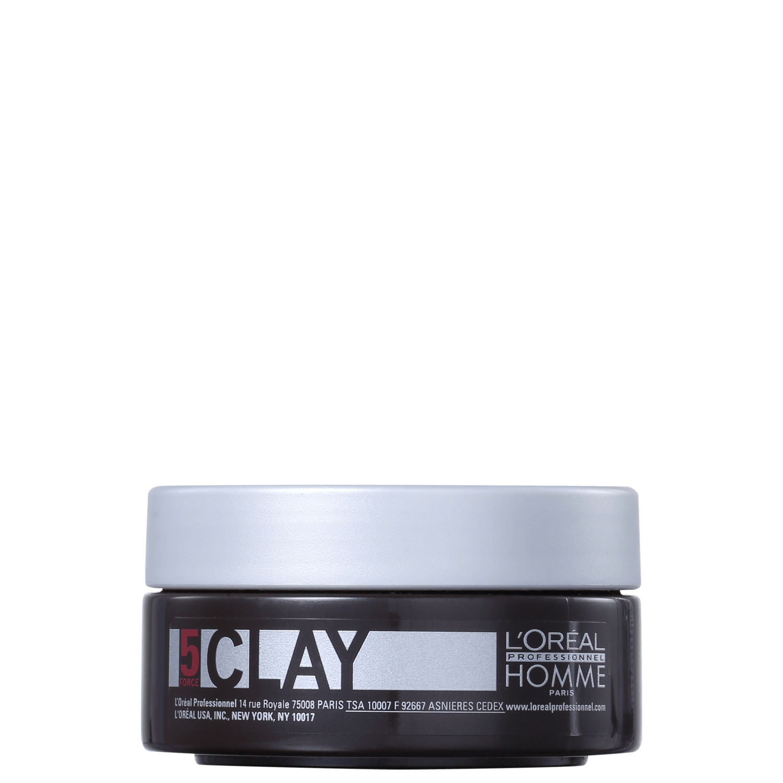 L'Oréal Professionnel Homme Clay Force 5 - Pasta Fixadora 50ml