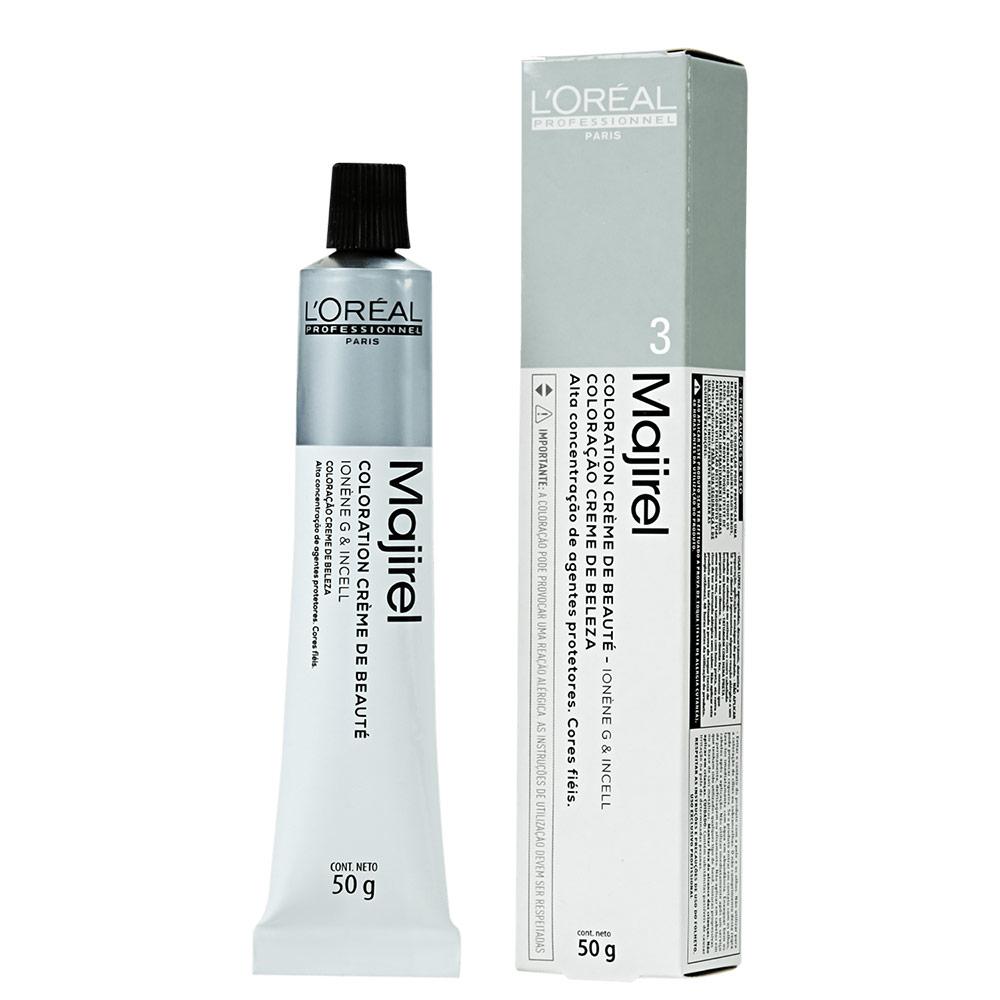 L'Oréal Professionnel Majirel 3 Castanho Escuro - Coloração 50g