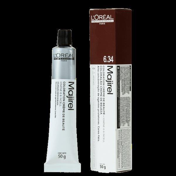 L'Oréal Professionnel Majirel 6.34 Louro Escuro Dourado Acobreado - Coloração 50g