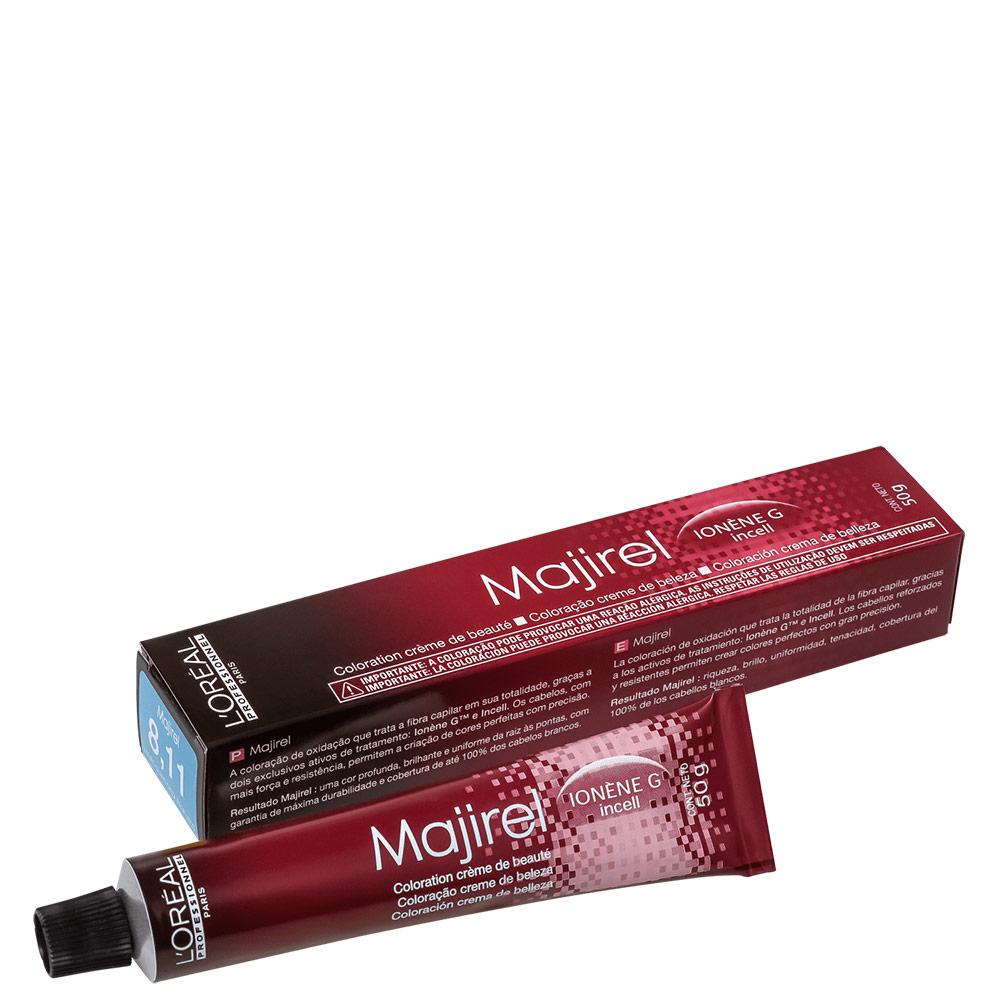 L'Oréal Professionnel Majirel 8.11 Louro Claro Cinza Luminoso - Coloração 50g