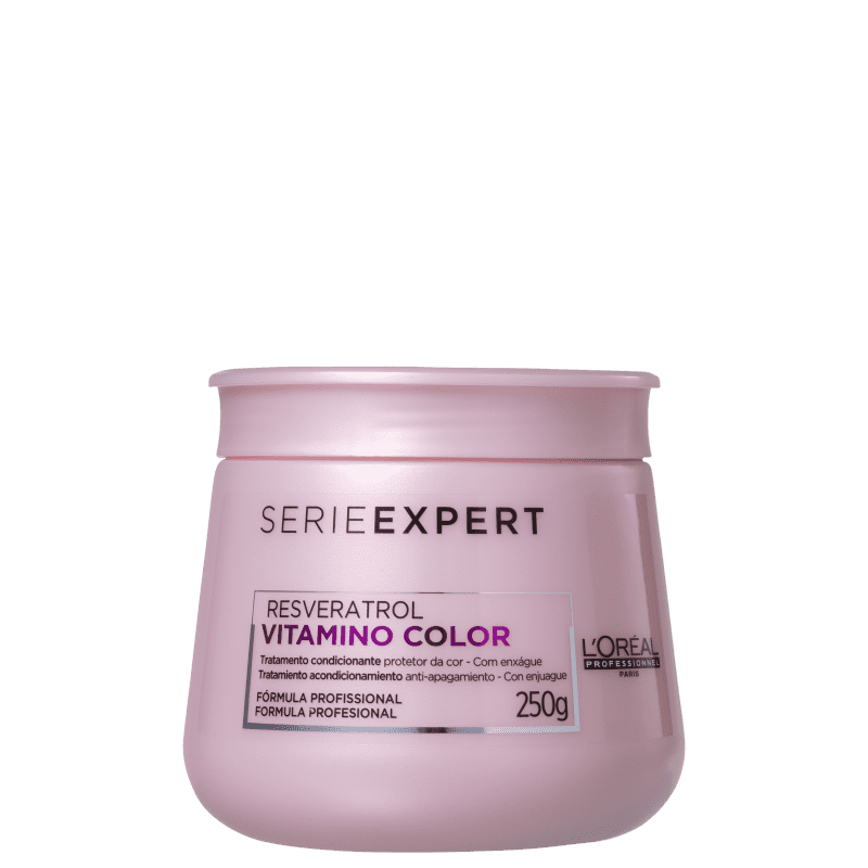 L'ORÉAL PROFESSIONNEL  Vitamino Color Resveratrol - Máscara Capilar 250g