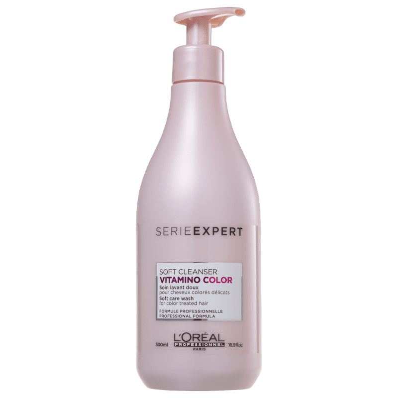 L'ORÉAL PROFESSIONNEL Vitamino Color Resveratrol Soft Cleanser - Shampoo sem Sulfato 500ml
