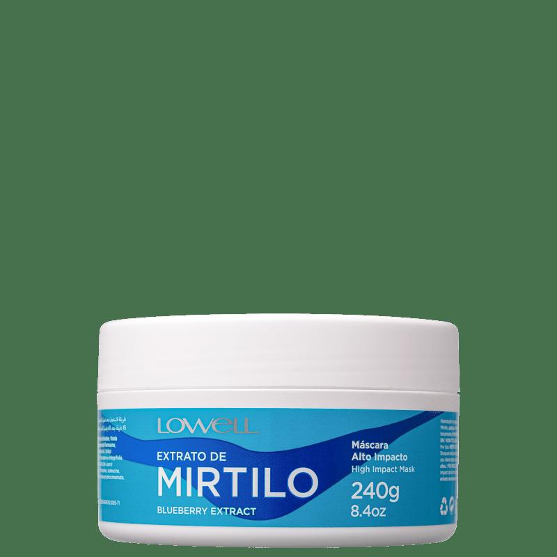LOWELL Complex Care Mirtilo Alto Impacto - Máscara 240gr