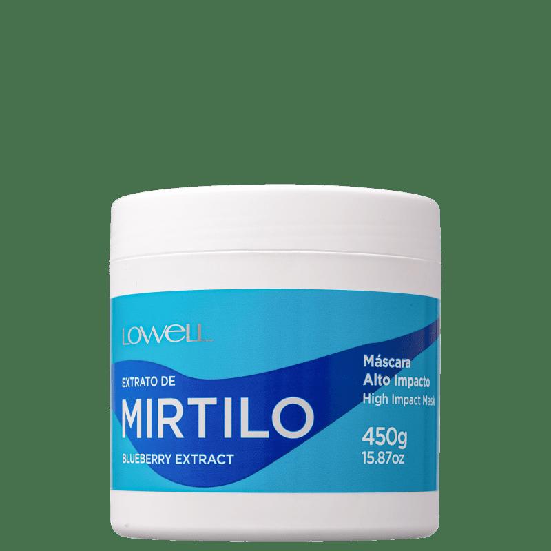 LOWELL Complex Care Mirtilo Alto Impacto - Máscara 450gr