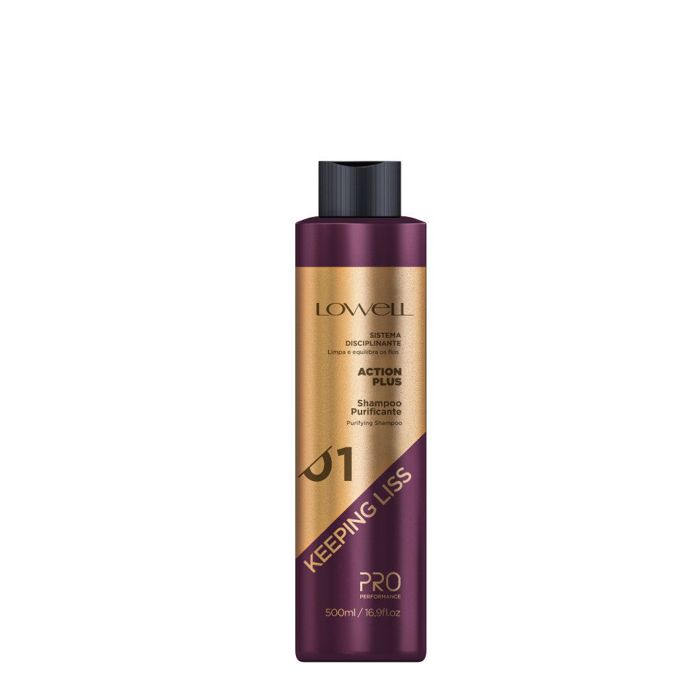 LOWELL Pro Performance  Keeping Liss Shampoo Purificante 500ml