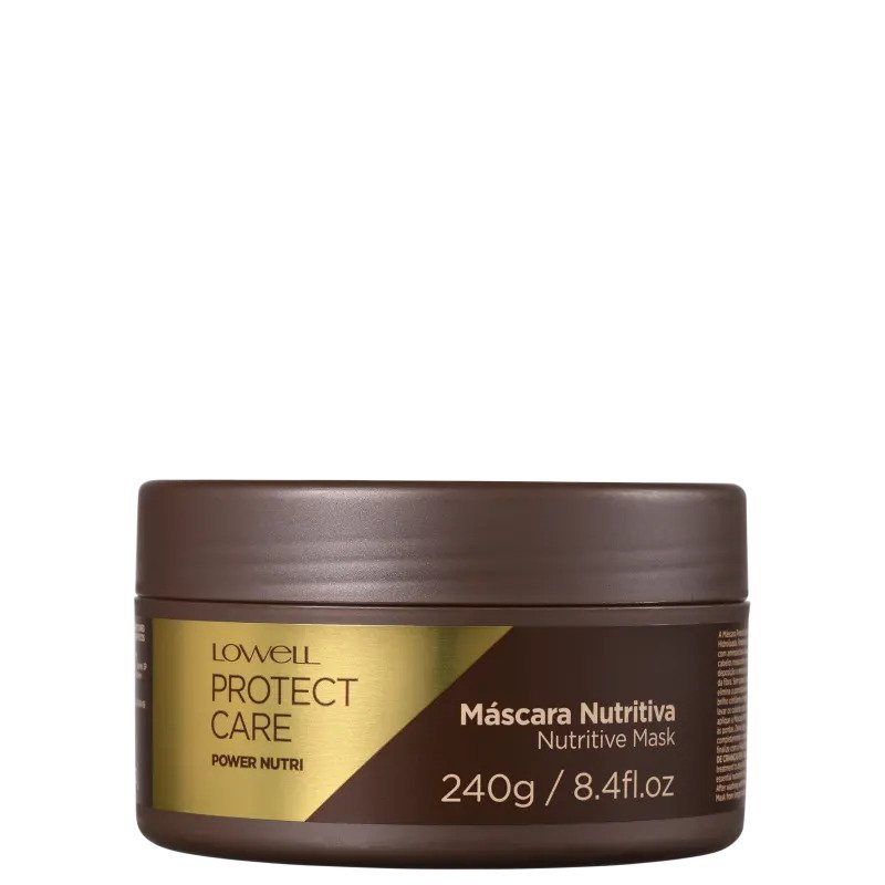 LOWELL Protect Care Power Nutri - Máscara Capilar 240gr