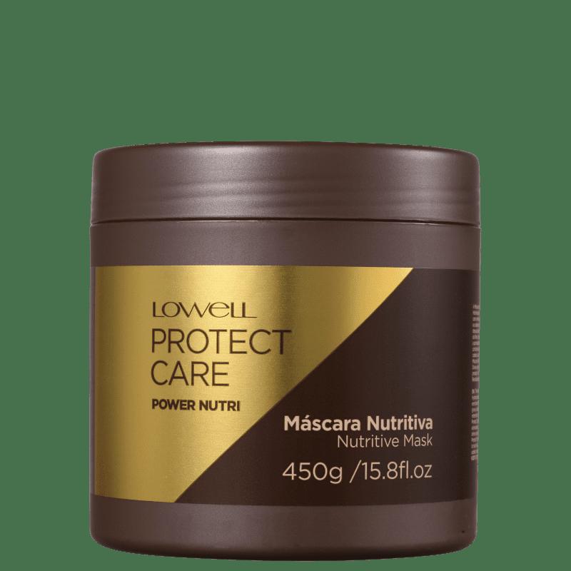 LOWELL Protect Care Power Nutri - Máscara Capilar 450gr