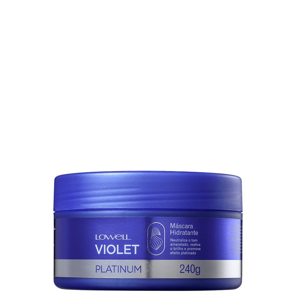 Lowell Violet Platinum - Máscara Matizadora 240g