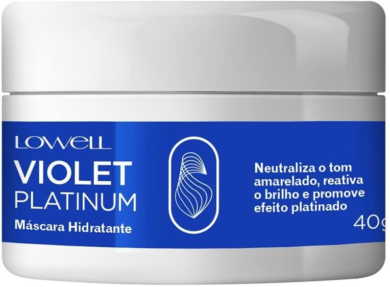 LOWELL Violet Platinum - Máscara Matizadora Mini 40gr