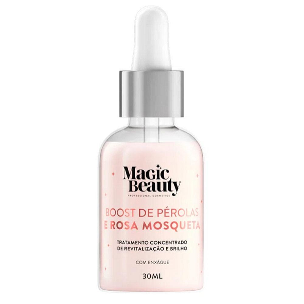 Magic Beauty Crystal Glow - Boost de Pérolas e Rosa Mosqueta 30ml