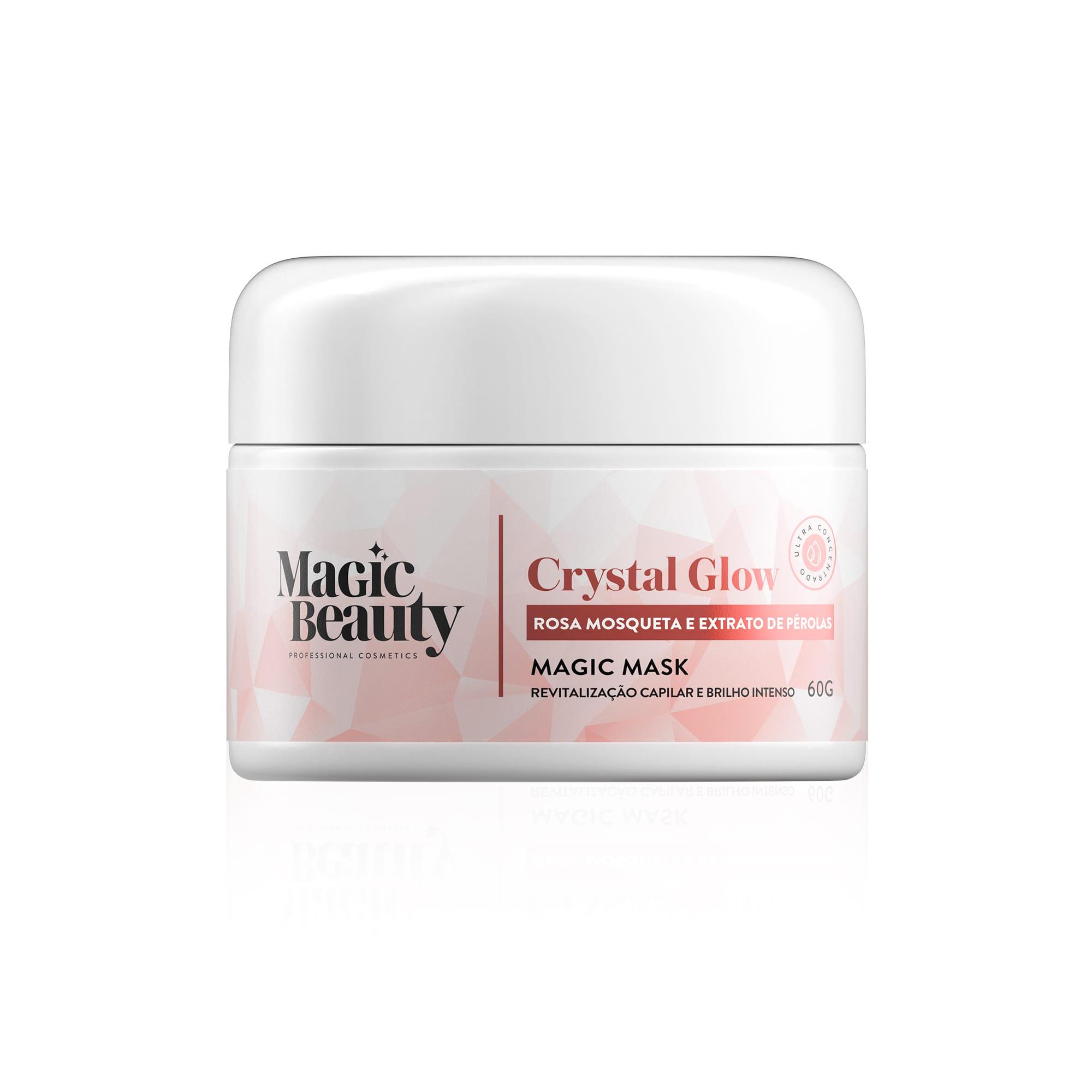 Magic Beauty Crystal Glow Revitalização e Brilho intenso Mini Máscara 60gr