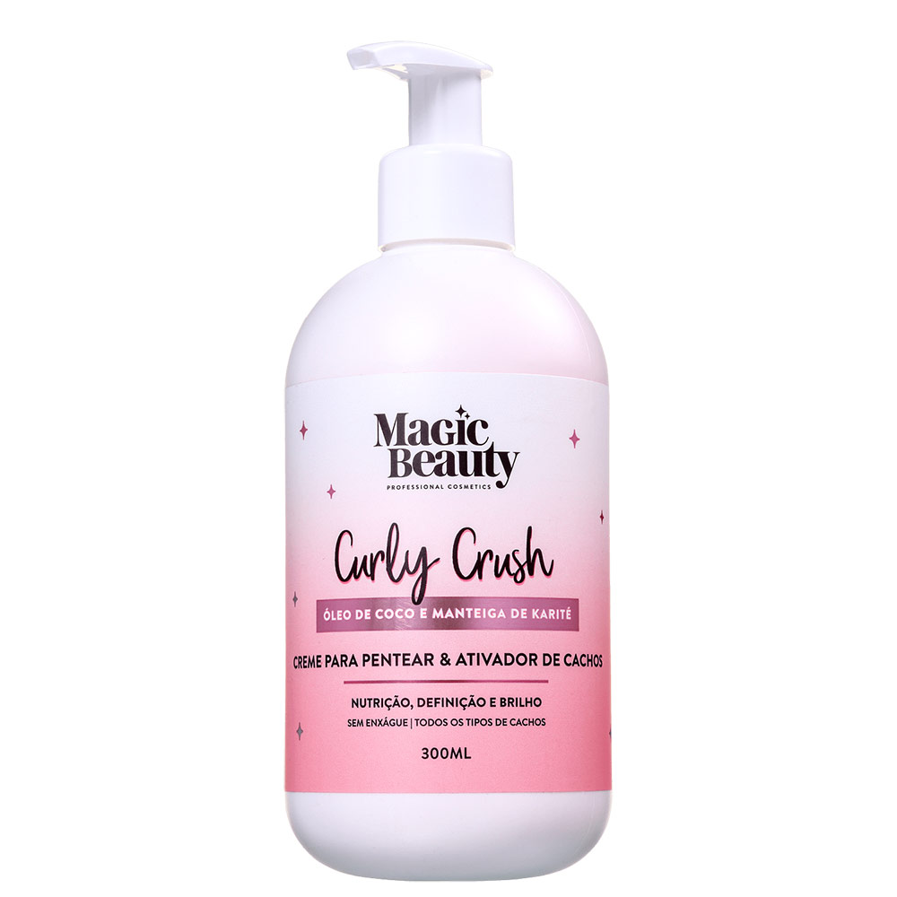 Magic Beauty Curly Crush - Creme para Pentear 300ml