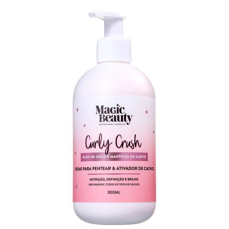 MAGIC BEAUTY Curly Crush - Creme para pentear a Ativador de Cachos 300ml